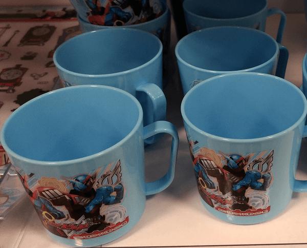仮面ライダービルドの「青いコップ」の画像