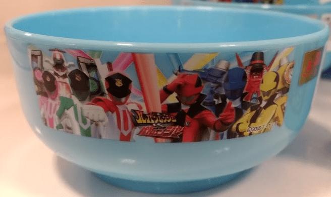 ルパンレンジャーとパトレンジャーの茶碗